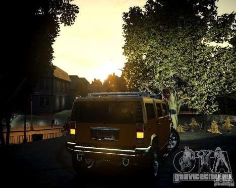 Hummer H2 2010 Limited Edition для GTA 4 салон
