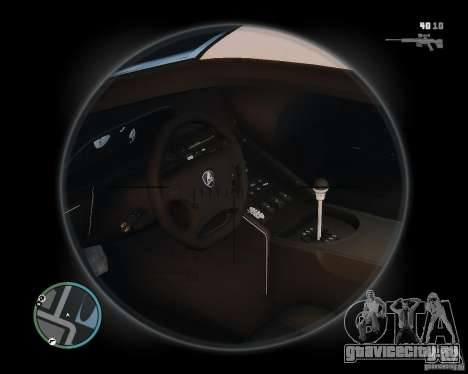 Lamborghini Diablo SV 1997 EPM v.2.3 для GTA 4 вид сзади