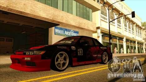 Nissan Silvia S13 MyGame Drift Team для GTA San Andreas вид справа