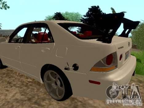 Lexus IS300 Drift для GTA San Andreas вид слева
