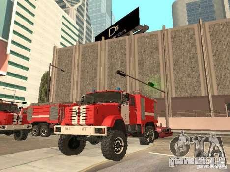 ЗИЛ Пожарный для GTA San Andreas