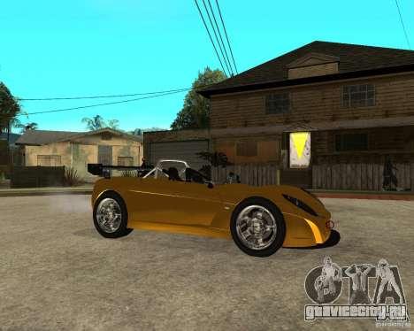 Lotus 2-Eleven для GTA San Andreas вид справа