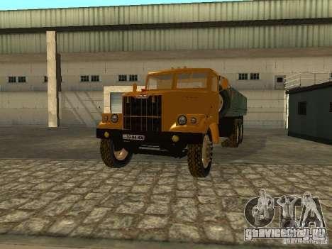 КрАЗ 255б бортовой v.2 для GTA San Andreas вид сбоку