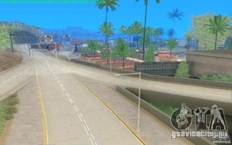 Бетонные дороги Лос-Сантос Beta для GTA San Andreas четвёртый скриншот