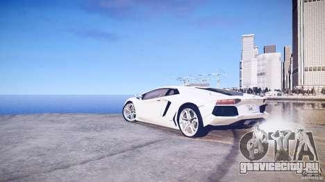 Lamborghini Aventador LP700-4 v1.0 для GTA 4 вид справа
