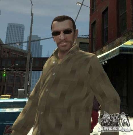 Новые очки для Нико - темные для GTA 4 второй скриншот