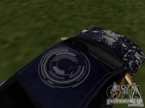 Infinity G35 Binsanity для GTA San Andreas вид справа