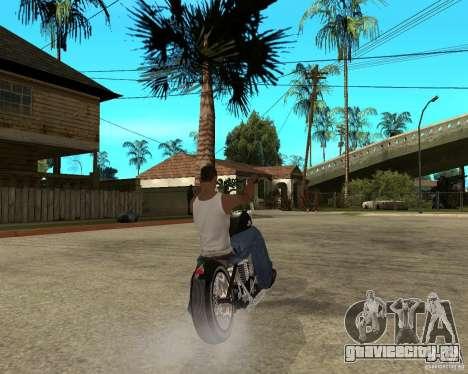 C&C chopeur для GTA San Andreas вид сзади слева