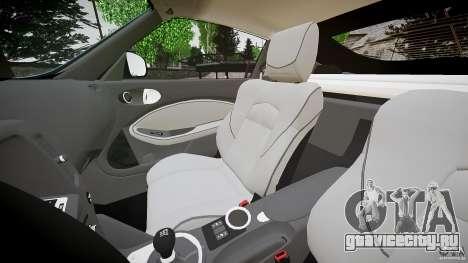 Nissan 370Z Coupe 2010 для GTA 4