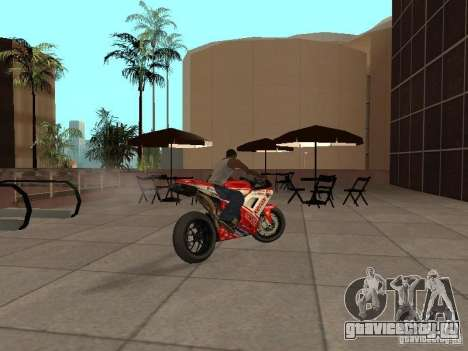 Ducati 1198R для GTA San Andreas вид слева