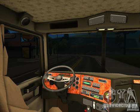 Western Star 4900 EX для GTA San Andreas вид сзади