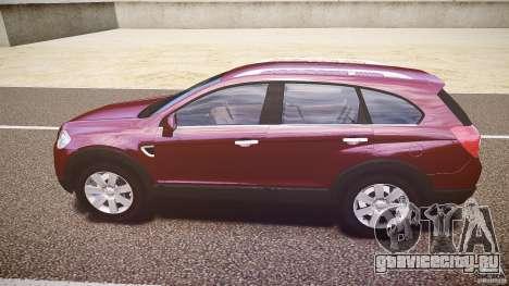 Chevrolet Captiva 2010 Final для GTA 4 вид сзади слева