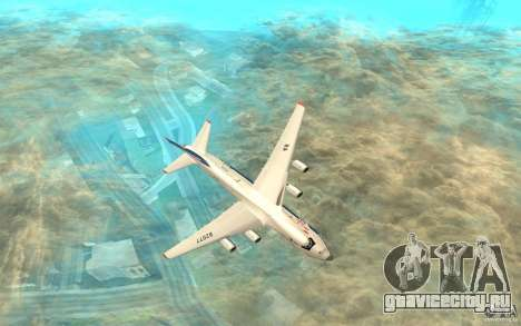 АН-124 Руслан для GTA San Andreas вид сзади слева