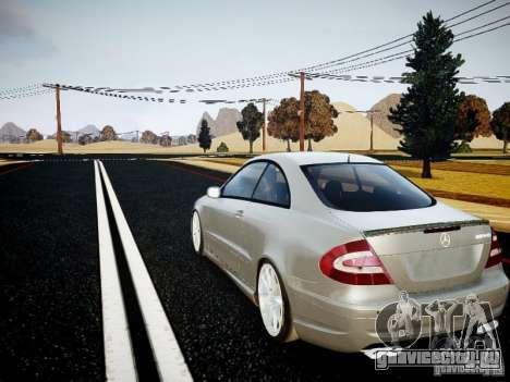 Mercedes-Benz CLK63 AMG Final для GTA 4 вид слева