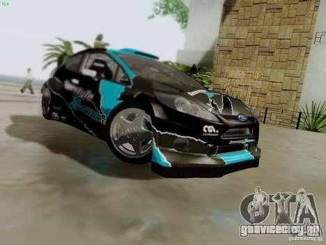 Ford Fiesta RS для GTA San Andreas вид снизу