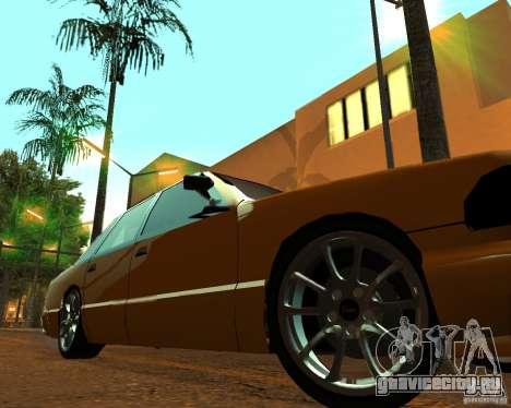 Azik Taxi для GTA San Andreas вид справа