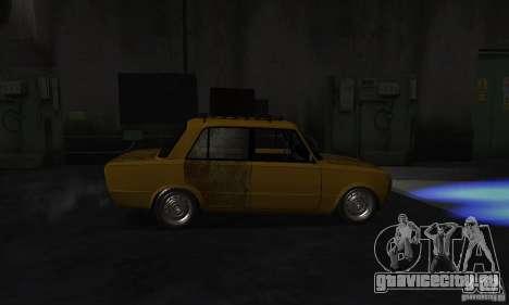 ВАЗ 2101 RAT LOOK для GTA San Andreas вид сзади слева