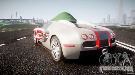 Bugatti Veyron 16.4 v1 для GTA 4 вид сбоку