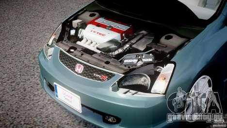 Honda Civic Type-R для GTA 4 вид сзади