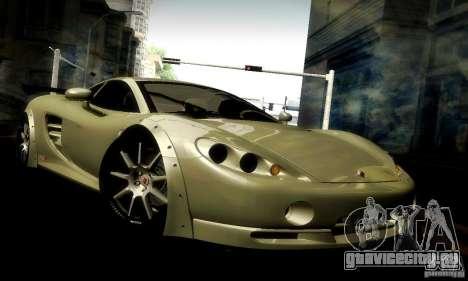 Ascari KZ1R Limited Edition для GTA San Andreas вид сверху