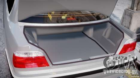 BMW 750i v1.5 для GTA 4 салон