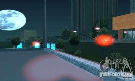 Красный цвет фар для GTA San Andreas пятый скриншот