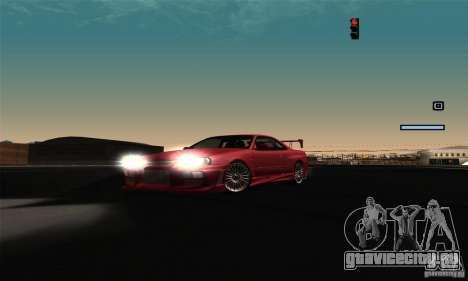 ENB Series 2013 HD by MR для GTA San Andreas восьмой скриншот