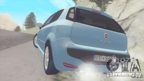 Fiat Punto для GTA San Andreas вид справа