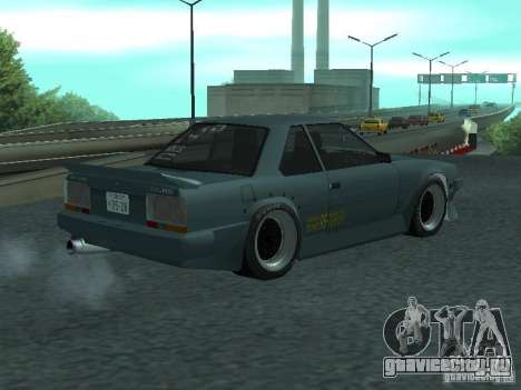 Nissan Skyline RS R30 для GTA San Andreas вид слева