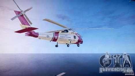HH-60J Jayhawk для GTA 4 вид сзади слева