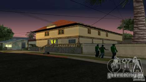 Новые текстуры домов и гаражей для GTA San Andreas третий скриншот