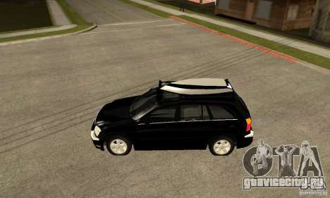 Chrysler Pacifica для GTA San Andreas вид слева