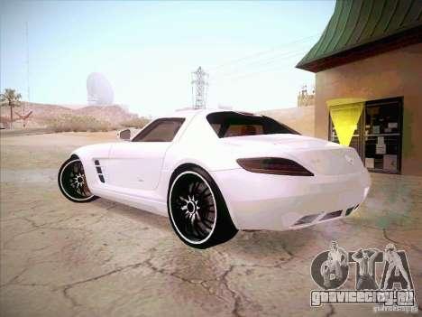 Mercedes-Benz SLS AMG 2010 Hamann Design для GTA San Andreas вид слева