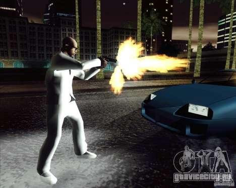 Белый костюм для GTA San Andreas третий скриншот