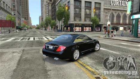 Mercedes-Benz CL65 AMG v1.5 для GTA 4 вид слева
