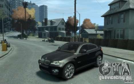 BMW X6 для GTA 4