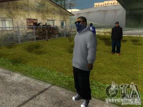 Crips для GTA San Andreas восьмой скриншот