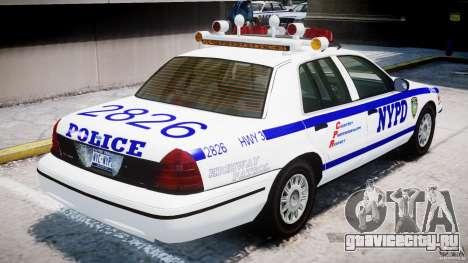 Ford Crown Victoria NYPD для GTA 4