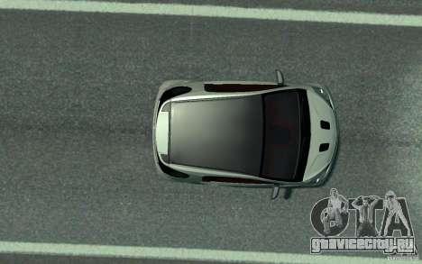 Aston Martin Cygnet 2011 для GTA 4 вид сзади