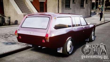 ГАЗ 24-12 1986-1994 Stock Edition v2.2 для GTA 4 вид сзади слева