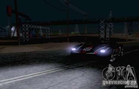 Ferrari F458 для GTA San Andreas вид сбоку