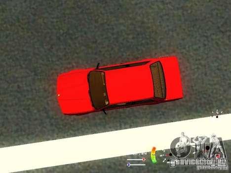 BMW E30 87-91 для GTA San Andreas вид сбоку