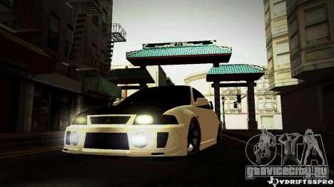 Mitsubishi Lancer Evolution 6 для GTA San Andreas