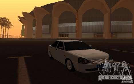 Lada Priora Light Tuning для GTA San Andreas вид справа