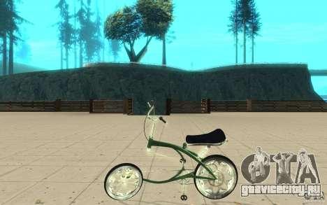 Custom Bike для GTA San Andreas вид слева
