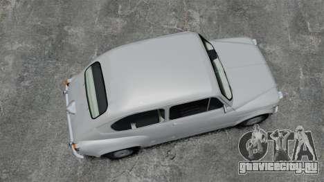 Zastava 750 для GTA 4 вид справа