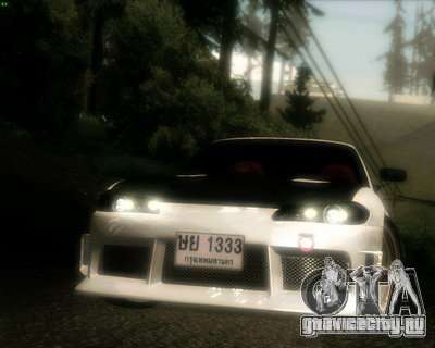 Nissan Silvia для GTA San Andreas вид сверху