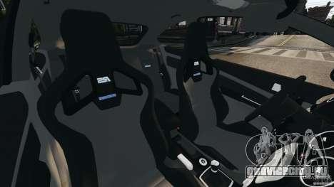 Ford Focus RS для GTA 4 вид изнутри