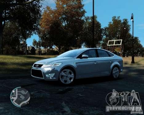 Ford Mondeo 2009 v1.0 для GTA 4