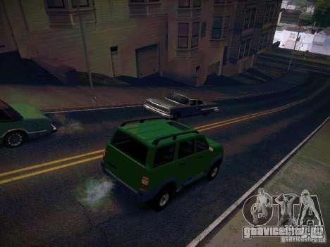 УАЗ 3160 Патриот для GTA San Andreas вид сзади